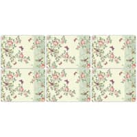 Portmeirion Pimpernel - Indian Rose Placemats Set Of 6