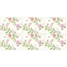 Sanderson Porcelain Garden - Placemats Set Of 6