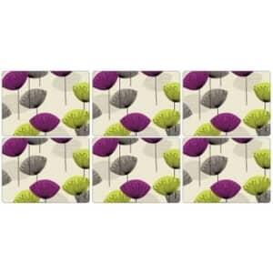 Portmeirion Pimpernel - Dandelion Clocks Placemats Set Of 6