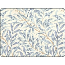 Portmeirion Pimpernel - Willow Boughs Blue Placemats Set Of 6