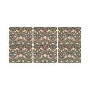 Spode Strawberry Thief - Placemats Set Of 6