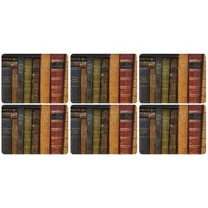 Portmeirion Pimpernel - Archive Books Placemats Set Of 6