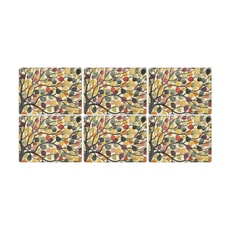 Portmeirion Pimpernel - Dancing Branches Placemats Set Of 6