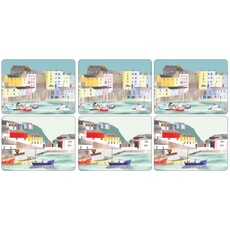 Portmeirion Pimpernel - Harbour Placemats Set Of 6