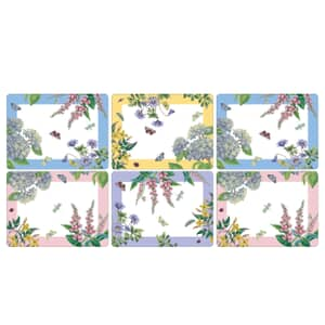 Portmeirion Botanic Garden - Terrace Placemats Set Of 6