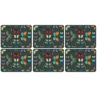 Botanic Garden Harmony Placemats Set Of 6