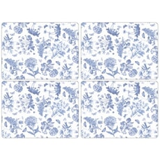 Portmeirion Botanic Blue - Large Placemats Set Of 4