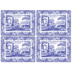 Spode Blue Italian - Large Tablemats Set Of 4