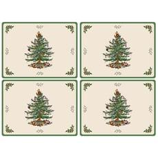 Spode Christmas Tree - Serving Mats Set Of 4
