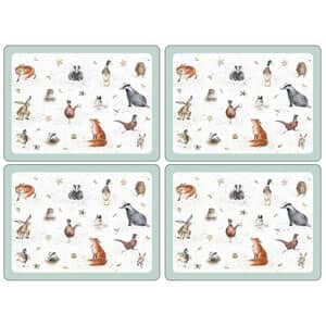 Wrendale Placemats Set Of 4
