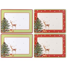 Spode Christmas Jubilee Placemats - Set Of 4
