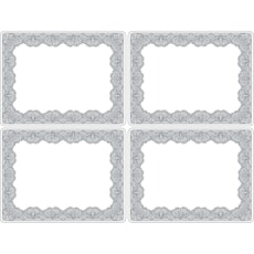 Portmeirion Catherine Lansfield - Glamour Lace Large Placemats Set Of 4