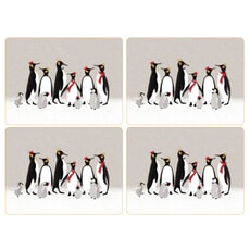 Sara Miller Penguin Christmas Collection - Large Placemats Set Of 4