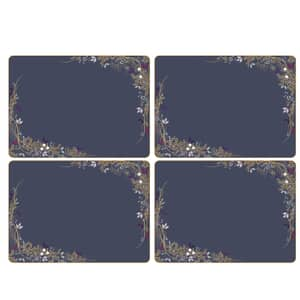 Sara Miller Garland Christmas - Large Placemats Set Of 4