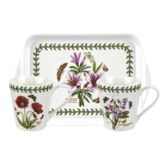 Portmeirion Botanic Garden - Mug And Tray Set