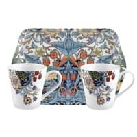 Spode Strawberry Thief - Mug And Tray Set