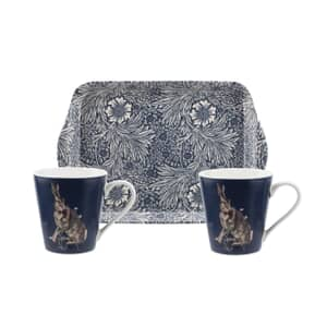 Portmeirion Pimpernel - Morris And Co Wightwick Mug And Tray Set