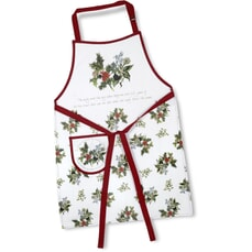 Portmeirion Holly and Ivy - Cotton Drill Apron