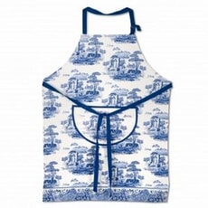 Spode Blue Italian - Cotton Drill Apron