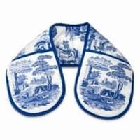 Spode Blue Italian - Double Oven Glove