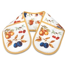 Royal Worcester Evesham Gold Double Oven Glove