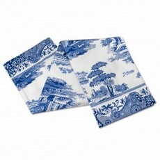 Spode Blue Italian - Tea Towel