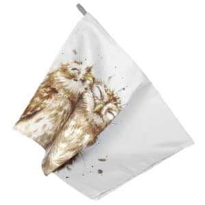 Wrendale Owl Tea Towel