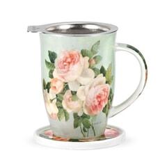 Portmeirion Pimpernel - Antique Rose Tisaniere