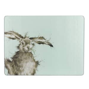 Wrendale Hare Glass Worktop Saver