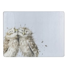 Wrendale The Twits (Owl) Glass Worktop Saver