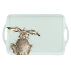 Wrendale Hare Large Handled Tray