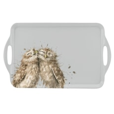Wrendale Owl Large Handled Tray