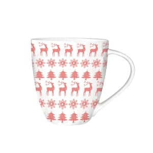 Churchill China Christmas Jumper Mug 500ml Red