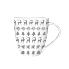 Churchill China Christmas Jumper Mug 500ml Grey