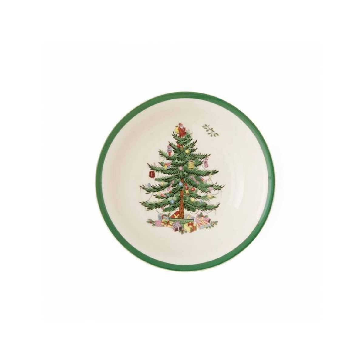 Spode Christmas Plates.Spode Christmas Tree Soup Cereal Bowl 20 5cm