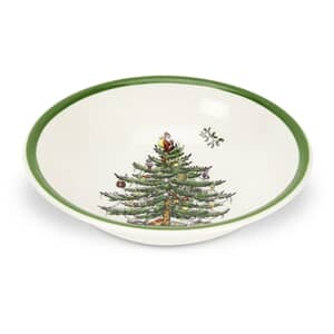 Spode Christmas Tree Soup/Cereal Bowl 20.5cm