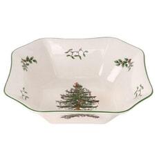 Spode Christmas Tree - Square Salad Bowl