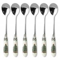 Spode Christmas Tree - Tea Spoons Set Of 6
