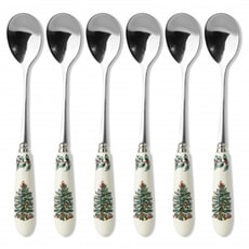 Spode Christmas Tree - Tea Spoons Set Of 6