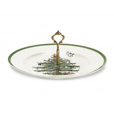 Spode Christmas Tree Single Handled Server