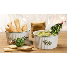Spode Christmas Tree - Dip Dishes With Spreaders