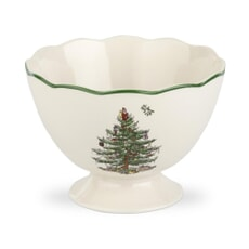 Spode Christmas Tree - Sculpted Footed Bowl
