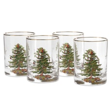 Spode Christmas Tree - Double Old Fashioned Tumbler
