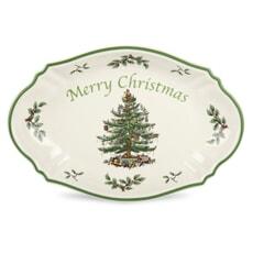 Spode Christmas Tree - Merry Christmas Tray