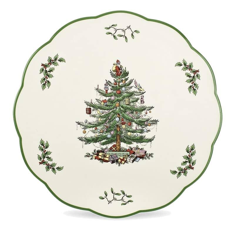 Spode Christmas Tree.Spode Christmas Tree Round Cheese Board