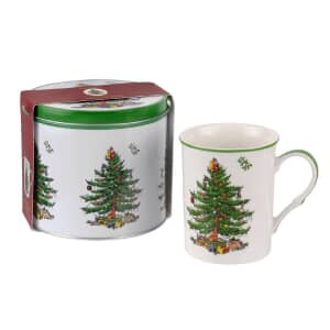 Spode Christmas Tree - Mug And Tin Set