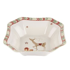 Spode Christmas Jubilee Deep Square Bowl