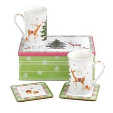Spode Christmas Jubilee 5 Piece Set