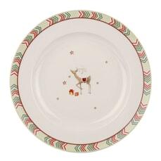 Spode Christmas Jubilee Dinner Plate - Chevron