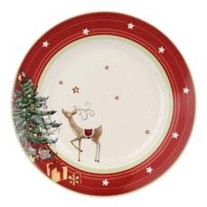 Spode Christmas Jubilee Salad Plate - Red Band